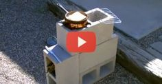 DIY: Cheap, Quick, & Easy Stove Design