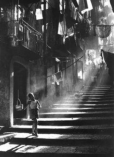 ph. Piergiorgio Branzi. Napoli, 1953