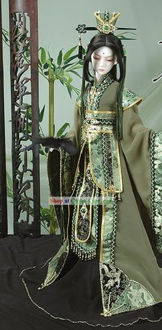 ♥♥ ۞ Ancient Chinese Prime Minister Costume and Hat Complete Set. ۞