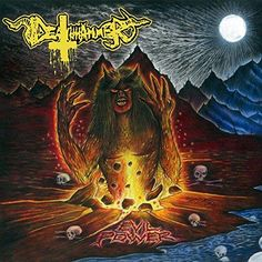 Evil Power - Deathhammer, LP