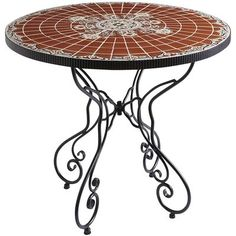Rania Table - Brown