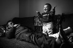 Ох, разбужу! Фотограф Алекс Ингл (Alex Ingle), Великобритания.