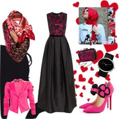 """""""♥♥ Hijab HAYAT Chic ♥♥"""" by ammoura ❤ liked on Polyvore"""