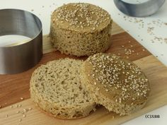 Glutenvrije hamburgerbroodjes van Teffmeel