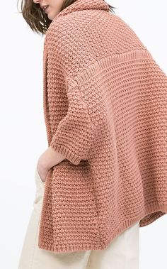 Casaco Malha | Zara