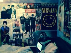 Home Ideas For > Grunge Bedroom Ideas Tumblr                                                                                                                                                                                 More
