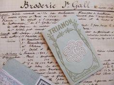 Merveilleux monogramme G dans un cartouche ajouré en fine batiste 1900-20