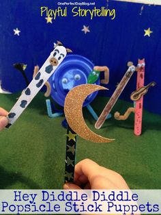 Musical Storytelling with Stick Puppets from One Perfect Day