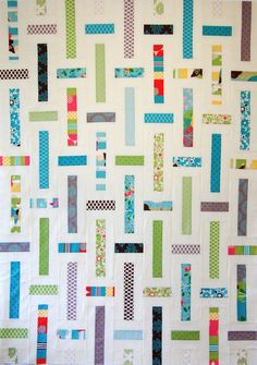 Lawn Chair Quilts « Moda Bake Shop This uses only 1/2 of a jelly roll, or one small jr