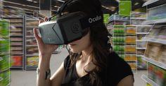 """Mit """"kaufDA VR"""" virtuell lokale Geschäfte besuchen. Ein Blick in die Zukunft: Wie """"Virtual Reality"""" unser Einkaufen verändern wird."""