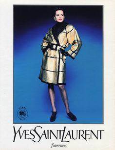Yves Saint-Laurent (Furs) 1992 Fur Coat