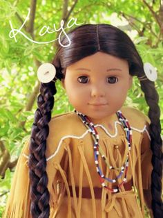 Love American Girl Doll Kaya.