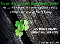 This is your #Lucky month! Ask me about my signup special. #plexus #workfromhome #$$$ #wellness $34.95 www.dplexuspower.com