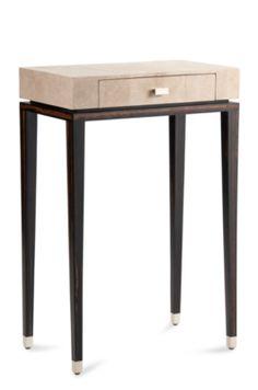 Niec - #Cravt #Original #Interior #Furniture #Design #Luxury #Console #Side #Table #Antique #Stingray #Ebony