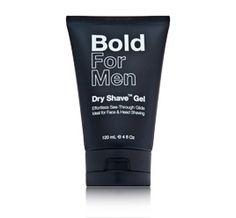 Bold For Men - Men's Waterless Shave Gel $16.00 DermStore.com
