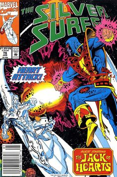 Silver Surfer 76, January 1993, cover by Ron Lim and Terry Austin