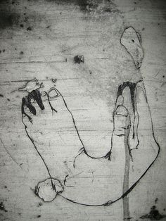 A hand and foot