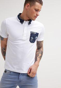 Voi Jeans KANSAS - Polo - white - Zalando.es