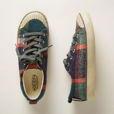 The 'Elsa' plaid sneaker by Keen® is pure comfort and charm.