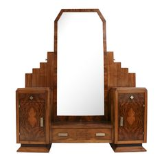 French Art Deco Dressing Table by Henry Geneste c.1920