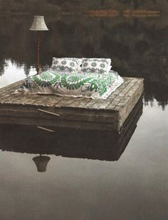 Floating Dock - would need a mosquito net