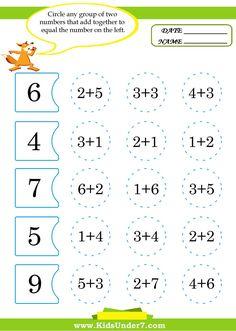 Netmanage upg rumba web to host ed 910629 001 Math Addition Worksheets, Kids Math Worksheets, Alphabet Worksheets, Kindergarten Math Activities, Montessori Math, Math Math, Math For Kids, Math Lessons, Kids Education