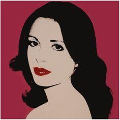 Andy Warhol - Laure de Coppet ´81