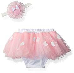 Baby White Minnie Dots Pettiskirt White Top Xmas Sock Print Ruffles Bows 3-12M