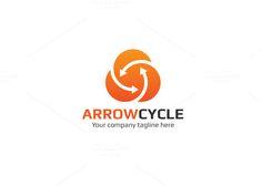 Arrow Cycle Logo  @creativework247