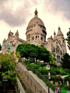 Sacre Coeur, Paris by Sharon Warneck, August, 2010