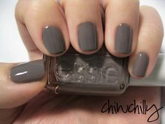 Essie's Chinchilly  - loving this  grey with a taupe undertone