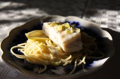 coconut cod with pasta. Here's how you make it.