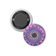 Customizable Metallic Purple Eye Small Round Magnet on sale at www.zazzle.com/wonderart* Click on the picture to take you directly to the product for purchase and info.