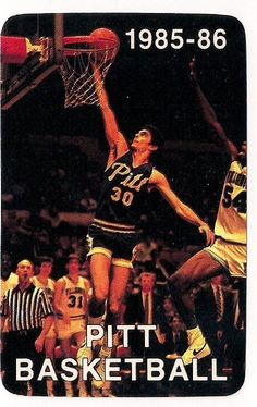 cbk 1985-86 pitt pittsburgh panthers ncaa college #Basketball schedule from $3.5