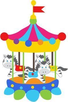Circo - Clipart Animals Circus_Circus4.png - Minus