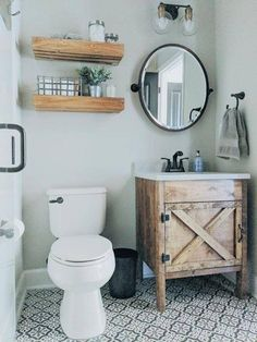 Consider this necessary photo in order to have a look at the here and now important info on DIY Bathroom Renovation Rustic Bathroom Vanities, Bathroom Storage, Bathroom Ideas, Bathroom Organization, Barn Bathroom, Bathroom Cabinets, Vanity For Small Bathroom, Bathroom Inspiration, Glass Bathroom