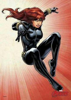 Black Widow von den Avengers by Marvel Marvel Comics, Marvel Heroines, Marvel Avengers Assemble, Arte Dc Comics, Hawkeye Marvel, Marvel Women, Marvel Girls, Comics Girls, Comic Poster