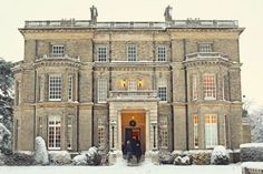 """Hedsor House:  film location for """"Quartet"""", starring Maggie Smith"""