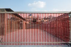 Gallery of Red Mirror Strips / Wise Architecture - 23