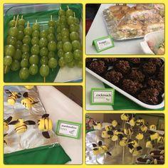 Bug theme party food