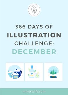 366 Days of Illustration Challenge - December | Vector illustrations in flat design style from the December (day 336-366) - the twelfth (last) month of one year of illustration challenge. Illustrations about Christmas & Winter. See all illustrations at mintswift.com #mintswift by Adrianna Leszczynska #illustration #illustrationchallenge #flatillustration #vectorart #illustrator #flatdesign #vectorillustration #digitalillustration #mintswiftportfolio #mintswiftillustrations Flat Design Illustration, Digital Illustration, Vector Illustrations, Red Christmas Jumper, Christmas Gift Tags, Web Design Packages, Business Checks, Winter Theme, Online Marketing