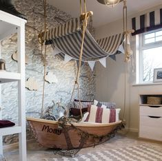 This is magical every little boys dream room!{ The Design House } Tag someone who would love this . - Architecture and Home Decor - Bedroom - Bathroom - Kitchen And Living Room Interior Design Decorating Ideas - Baby Bedroom, Kids Bedroom, Bedroom Decor, Little Boy Bedroom Ideas, Bedroom Interiors, Childrens Bedroom, Bedroom Themes, Trendy Bedroom, Boys Room Decor