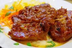 In Bacon eingewickelte Hähnchenbrustfilets Pork Meat, Meatloaf, Tandoori Chicken, Bacon, Ketchup, Bbq, Food And Drink, Low Carb, Cooking Recipes
