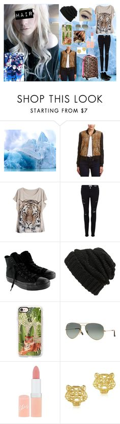 """""""Gender Bender//Yuri on Ice// Yuri Plisetsky"""" by masteremo9099 ❤ liked on Polyvore featuring Drew, WithChic, Frame, Converse, Leith, Casetify, Ray-Ban, Rimmel, Betsey Johnson and Kenzo"""