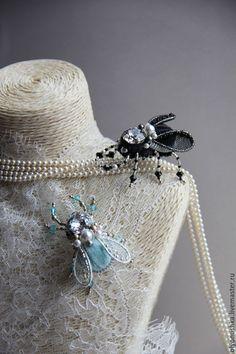"""Купить Брошь""""Bugs. ANCIEN ITALIE"""" - винтажные украшения, итальянский стиль, брошь, винтажная брошь"""