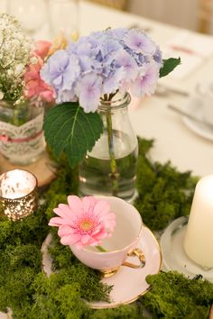 Wedding Decorations, Table Decorations, Woodland Garden, Spring Blooms, Crow, Natural Wood, Delicate, Cottage, Weddings