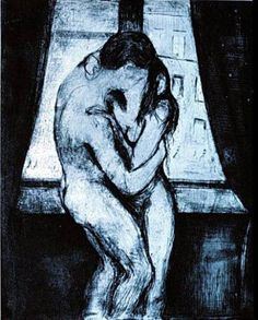 Edvard Munch, Le baiser(The Kiss), 1895