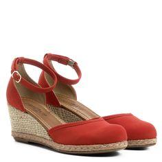 f2e6d6313 Compre Espadrille Anabela Drezzup Corda Feminina - Vermelho e muito mais em  roupas, calçados e