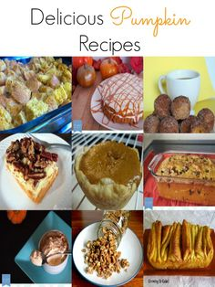 Easy Homemade Recipes: Delicious Pumpkin Recipes