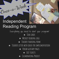 Implementing a successful independent reading program means teachers need a well-oiled machine in terms of all of the logistics:record keeping, accountab